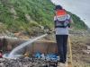 군부대 협업을 통해 도서 항포구 화재 조기 진화